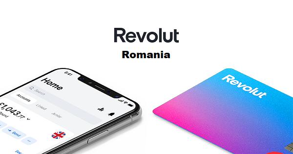 card Revolut Romania